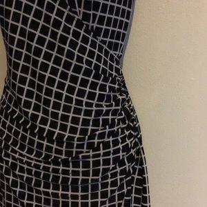 Aa Studio Dresses - AA STUDIO Faux Wrap Dress